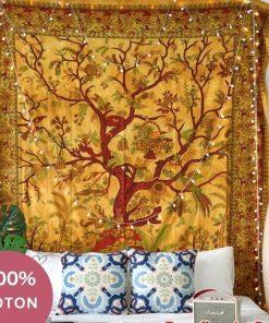 Baum des Lebens Indischer Wandbehang
