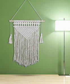 Makramee gewebt Wandbehang